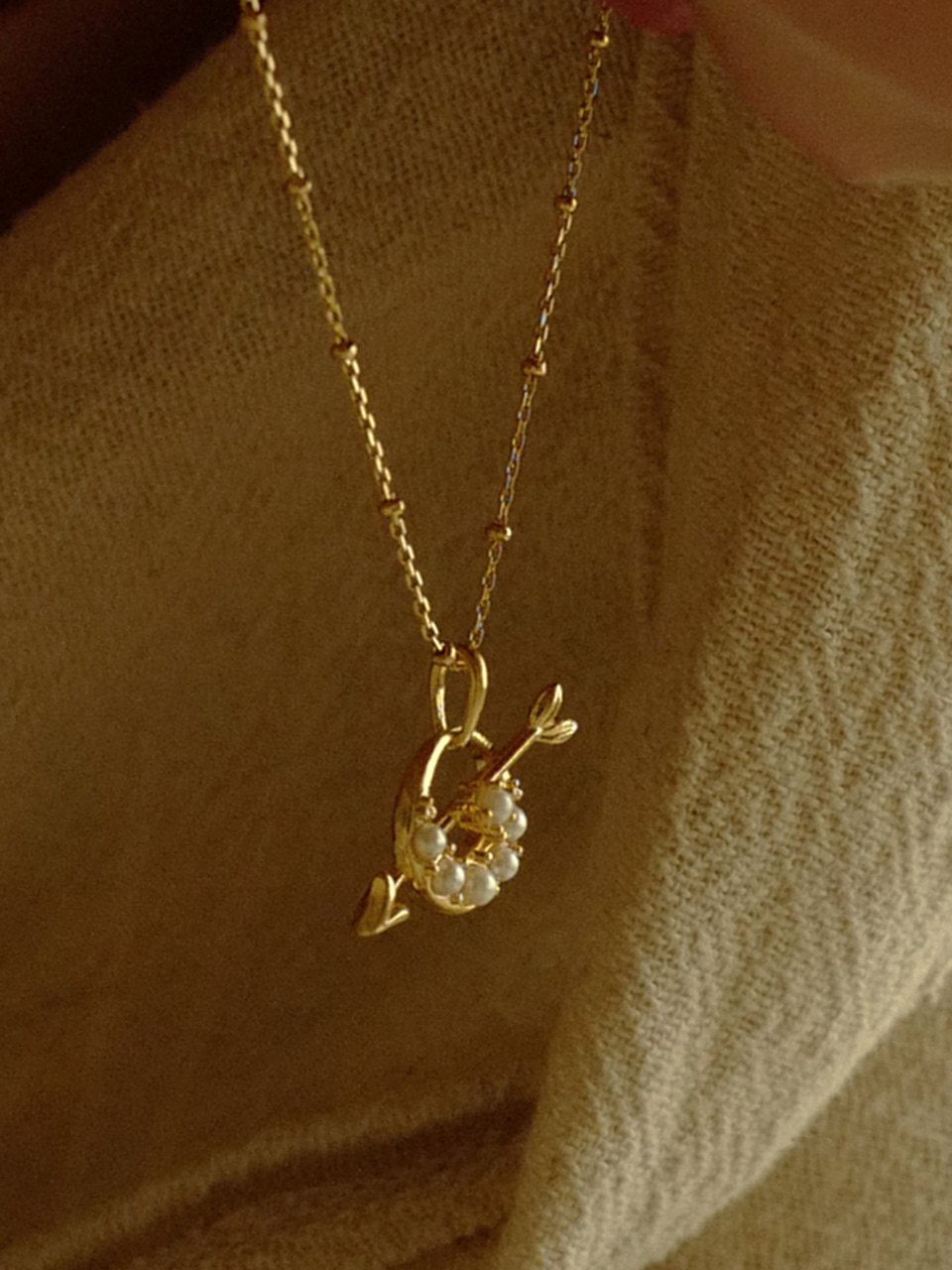 Lune Cupid Necklace