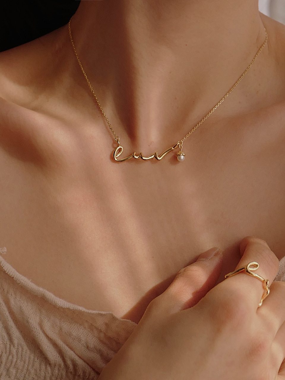Luv Flow Necklace (2/20 이후 순차배송)